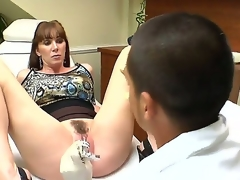 Ray Veness likes having her doc finger fucking her pussy previous to hardcore fucking