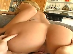 Blond Lorena Sanchez feels the superlatively good feeling ever with Trent Soluris stiff cock in face hole