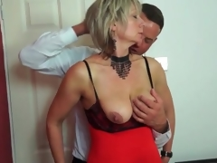 Big mambos mature in sexy underware sucks dick