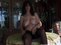 Erotic solo porn with big boobs brunette hotty