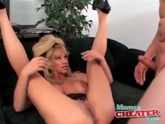 Milf fuck porn with a cumshot on her hawt tits