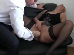 Bossy honey fist bumped untill she squirts