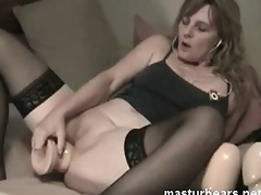 my insane anal dildo masturbation