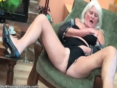 Naughty old and  lesbians go insane