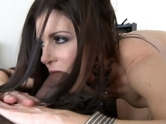 India Summer takes giant dark ramrod in 69 position